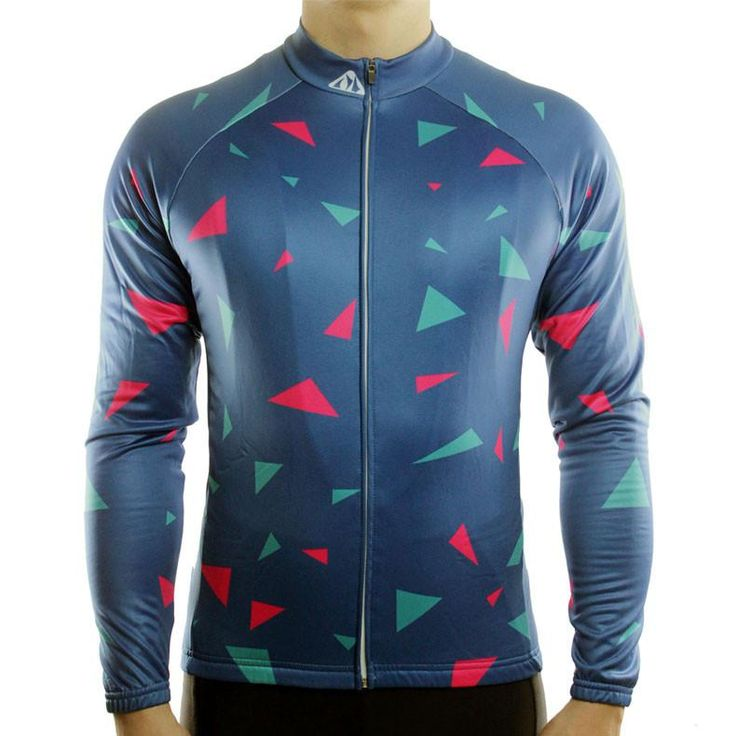 Shattered Pieces - Long Sleeve Cycling Jersey