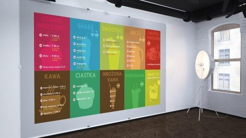 LOVEYO's MENU BOARD by FUNKTIONAL