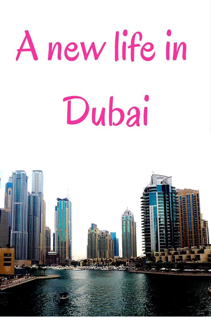 How you'll spend your first few days in Dubai when you move there. Dubai expat life blog by a British girl!  Dubai marina | New Dubai city skyline