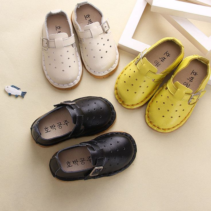 ==> [Free Shipping] Buy Best 2017 Toddler girls shoes boys First Walkers genuine leather Baby shoes Spring fashion Breathable soft buckle casual kids shoes Online with LOWEST Price | 32802939445