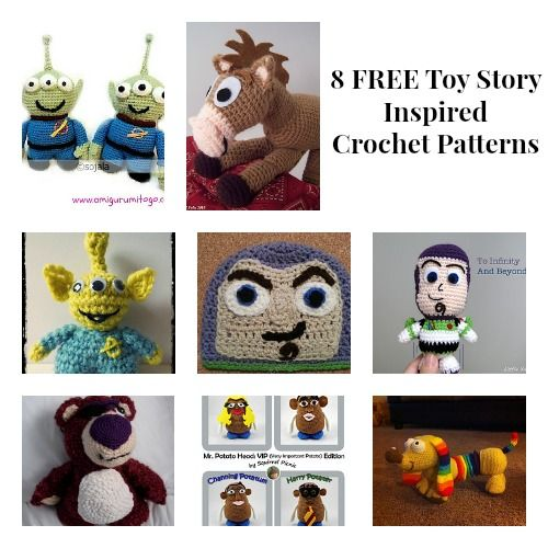 20 best images about crochet toy story on Pinterest Buzz ...