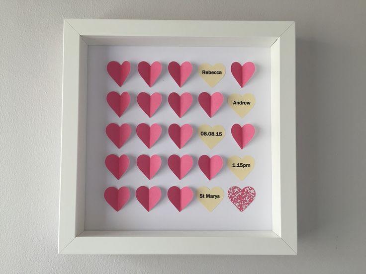 Image of Hearts - Small - Pink Confetti