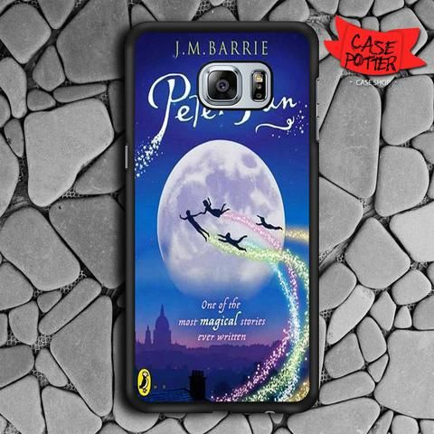 Peter Pan Samsung Galaxy S6 Edge Plus Black Case