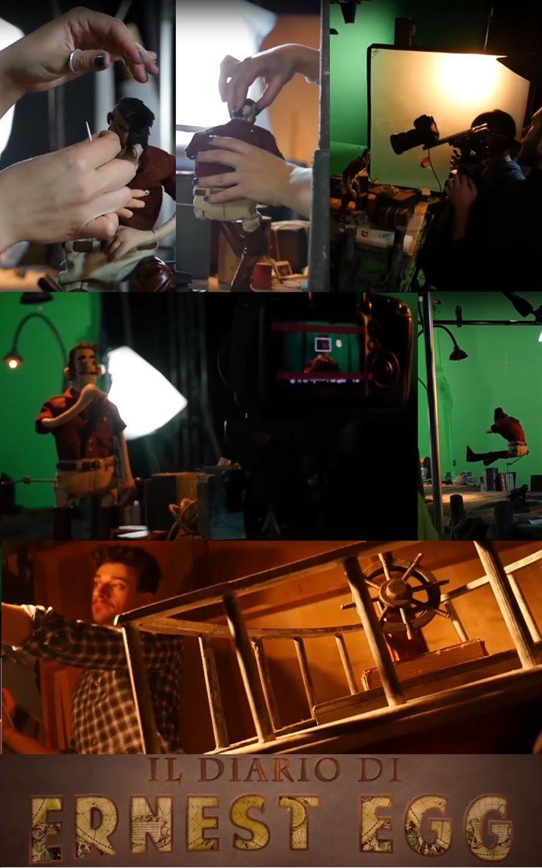 #Sharendipity: Presentazione del #backstage of #teaser de' IL DIARIO DI ERNEST EGG con gli autori #FrancescoPOLIZZO & #StefanoBOSIFIORAVANTI a @LameziaComics ► https://www.youtube.com/watch?v=_KF0ermZGNc ► https://www.facebook.com/ErnestEgg/posts/1740382066228352