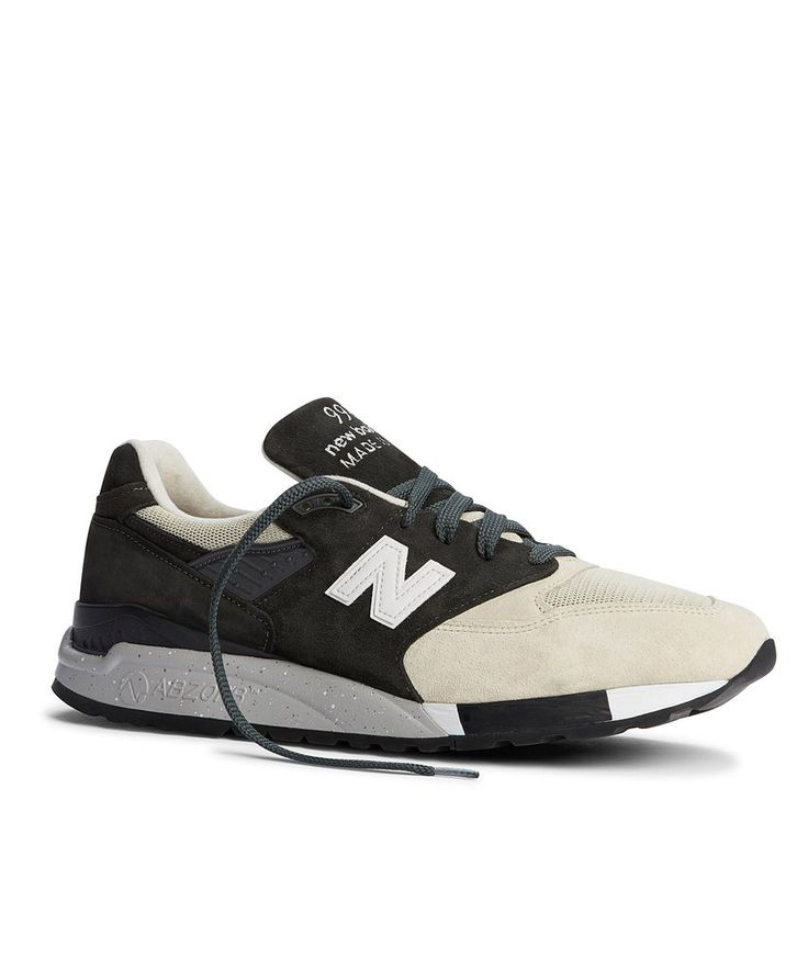 Todd Snyder x New Balance: Black and Tan 998