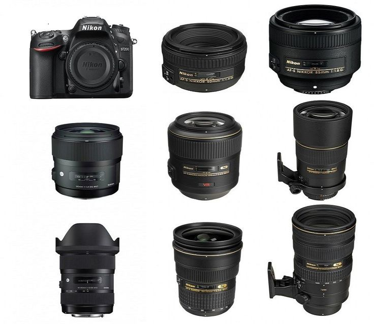Recommended-Best-Lenses-for-Nikon-D7200 for any photo editing : www.clippingpathlab.com