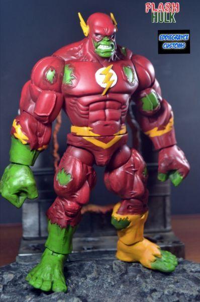 Flash Hulk Custom Action Figure