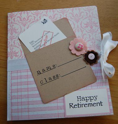 Librarian Retirement Card......maybe I'll get one this cute in another 15 years…
