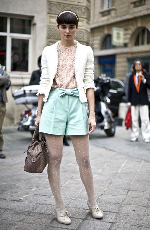 Anne-Catherine, Paris | Street Fashion | Street Peeper | Global Street Fashion and Street Style #SweetColors