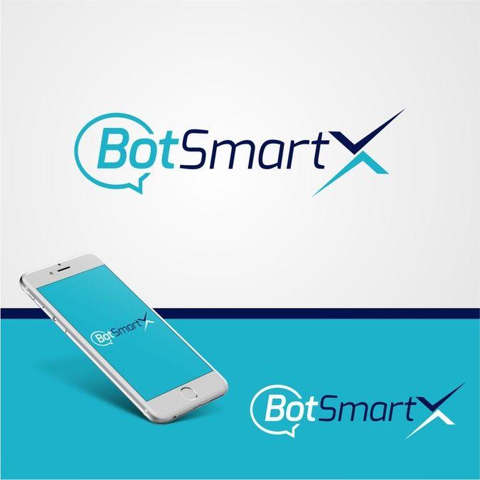 BotSmartX precisa de um logotipo moderno, tecnológico e inovador. Comunicação Automatizada via Instant Messenger. Designers choose Technology by Bruno Designer