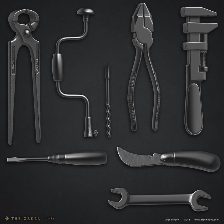 ArtStation - Tools for The Order 1886, Alec Moody