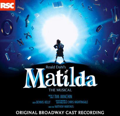 Matilda the Musical Original Broadway Cast Recording CD - Matilda the Musical | PlaybillStore.com