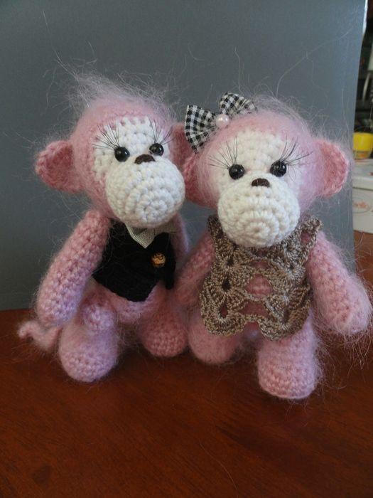 278 besten Crochet - Monkeys ! Bilder auf Pinterest | Affen ...