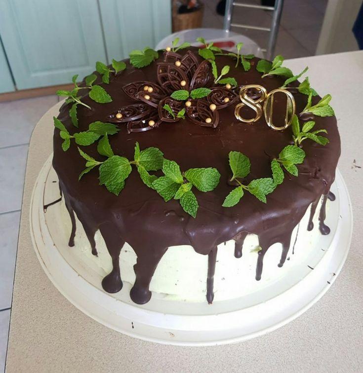 Tort czekoladowo - miętowy | Moje Wypieki