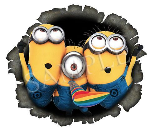 Best Car Images On Pinterest - Minion custom vinyl decals for car