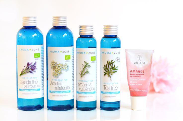 Routine beauté bio et cruelty-free du matin (hydrolats + crème Weleda à l'amande) www.sweetandsour.fr #skincare