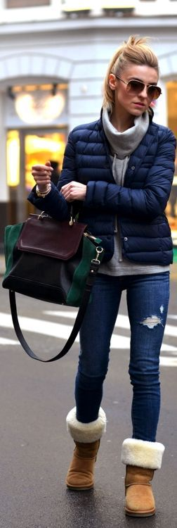 November In The City by Make Life Easier => Click to see what she wears