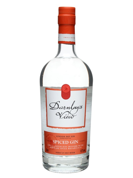 Darnley's View Spiced Gin : Buy Online - The Whisky Exchange - Darnley's View has been named to celebrate the first sighting of Lord Darnley by Mary Queen of Scots. Darnley's View is a small batch London Dry Gin. The spiced version, as the name may imply, is m...