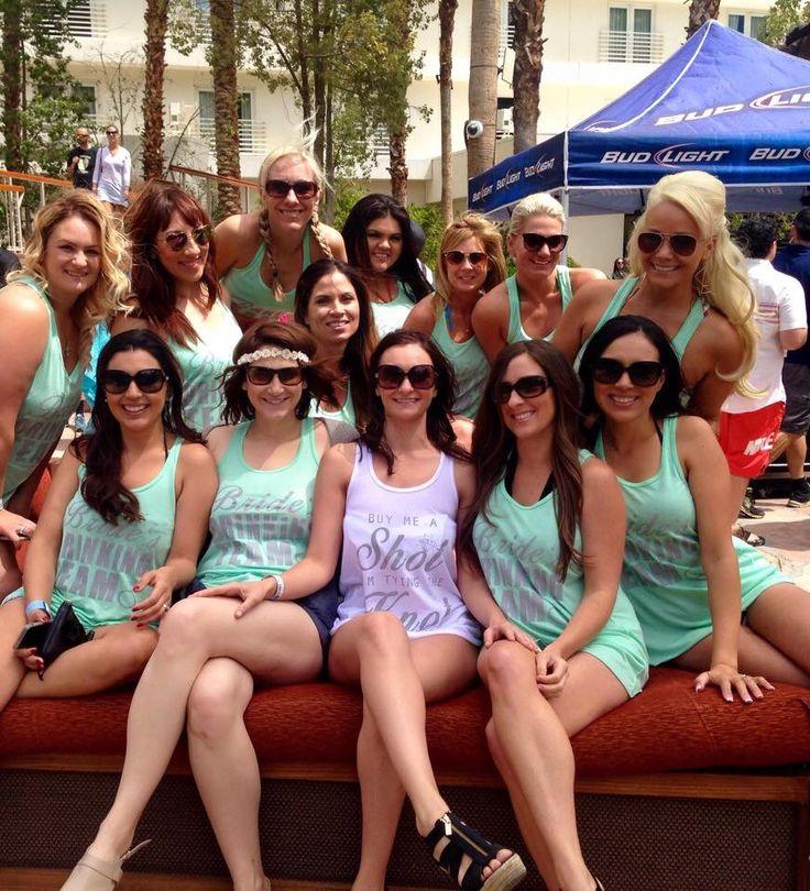 Bachelorette parties tank tops and tanks on pinterest for Fun bachelorette party destinations
