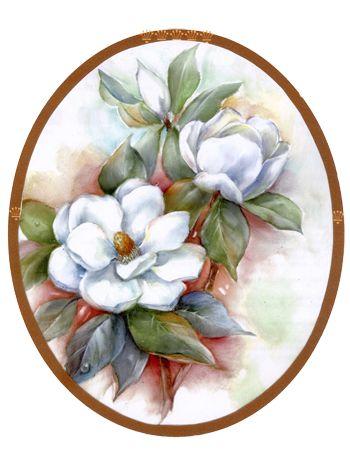 Magnolias A very beautiful painting.