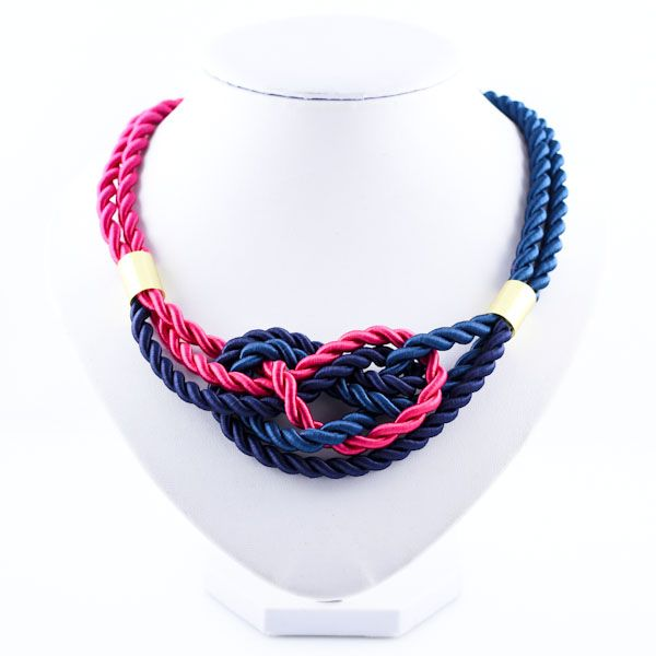 Limited Edition SS16  Rope necklace Statement jewellery