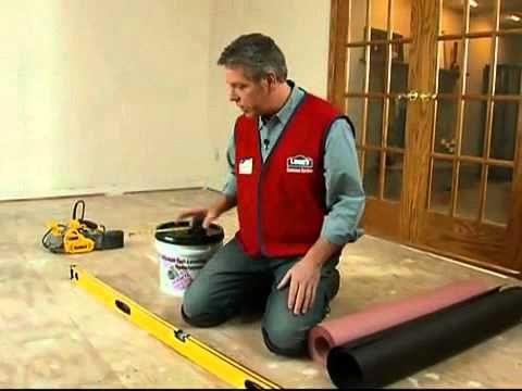 Preparación de un subsuelo de madera contrachapada para pisos de madera ...