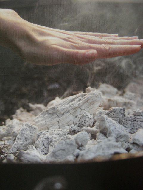 Dica de churrasco - mão sobre o fogo