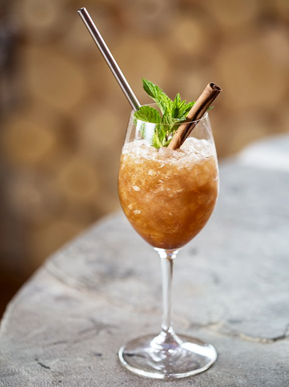 Spice up your next sherry cobbler with a dose of pecan liqueur.…