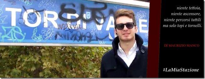 """""""Questa è la Stazione di Tor di Valle ed è quella che dovrebbe ospitare i tifosi nel nuovo Stadio della Roma, ma le immagini parlano da sole"""" – Queste sono le prime parole di un video di 2 minuti sullo stile de Le Iene, realizzato da Maurizio sulla peggiore stazione della Roma-Lido. 2 minuti sono bastati a far vedere tutto lo schifo che c'è: niente tettoia, niente ascensore, niente percorsi tattili ma solo topi e tornelli aperti."""