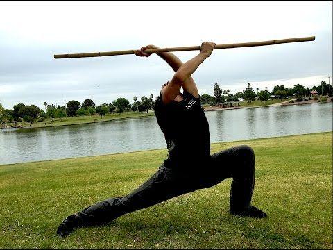 Kung Fu BO STAFF Kata - Impressive! - YouTube