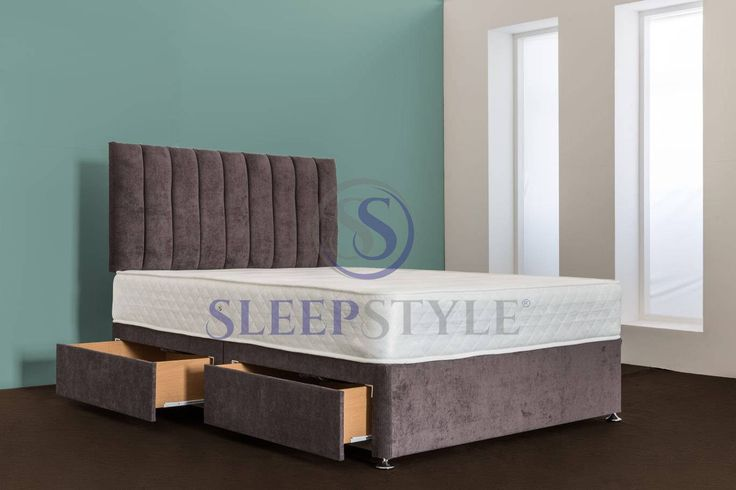 All Sizes And Any Colour Divan Bed & Headboard Including