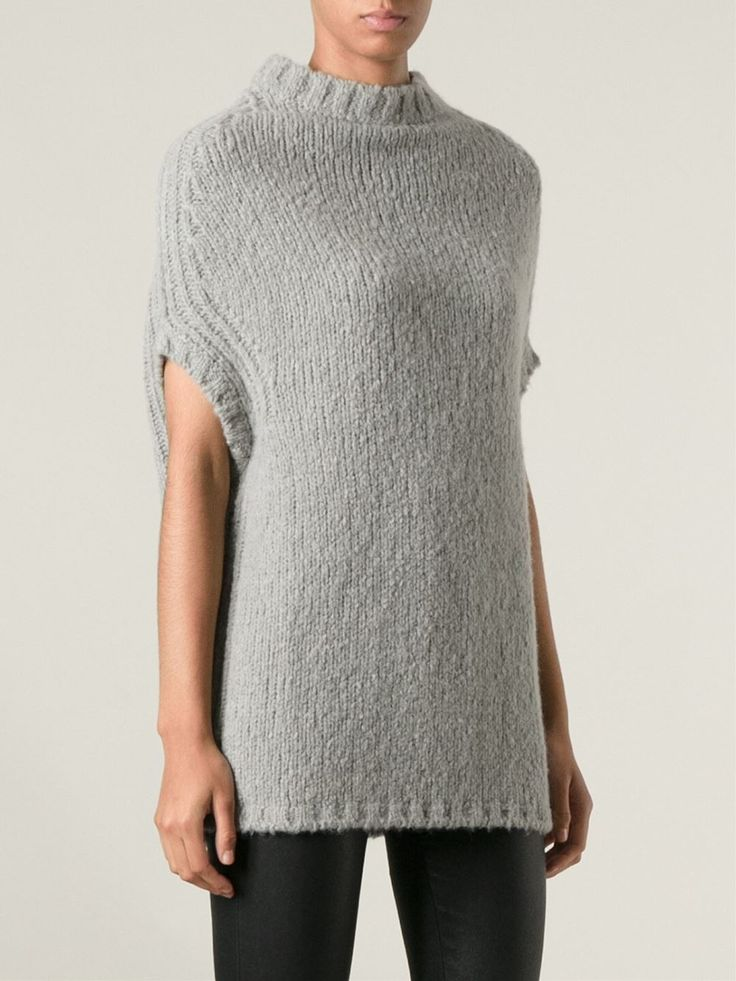 Rick Owens Dropped Shoulder Sweater - Feathers - Farfetch.com