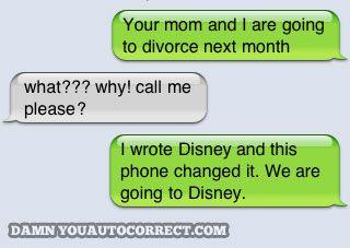 Disney vs. Divorce?