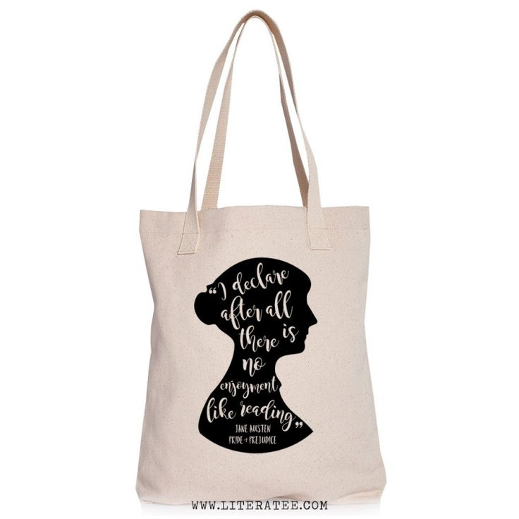 VIDA Tote Bag - PRIDE and PREJUDICE by VIDA X789pZPk