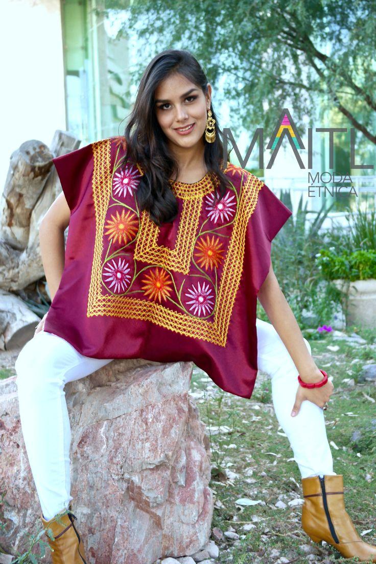 #oaxaca #embroidery #huipil #boho available online store instagram maitl_moda_etnica Facebook Maitl Moda Etnica