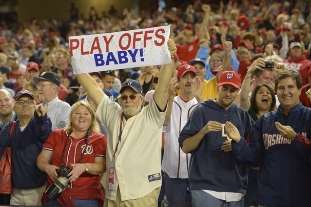 Whoo Hoo! Washington Nationals clinch MLB playoff spot with 4-1 win over Los Angeles Dodgers - The Washington Post