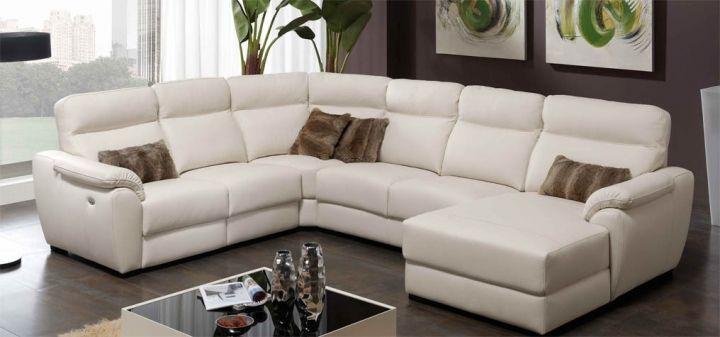 Sofá de Piel modelo MOON Piel Confort