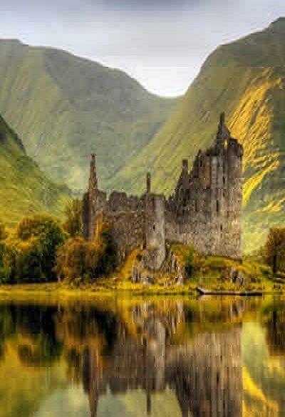 Scotland, United Kingdom. www.britishvacati… #travel #tourism #greatbritain #v…