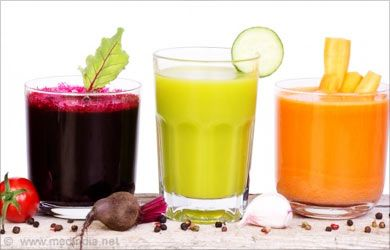 Home Remedies for Optic Neuritis: Vegetable Juice