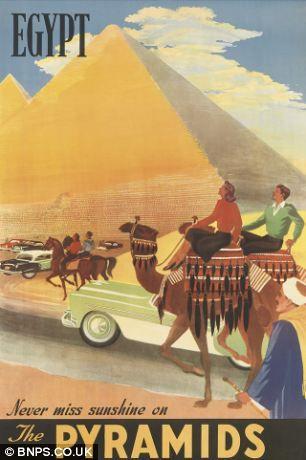 Egypt - vieille affiche