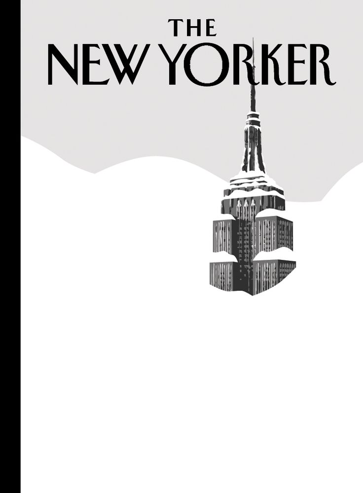Vintage The New Yorker cover