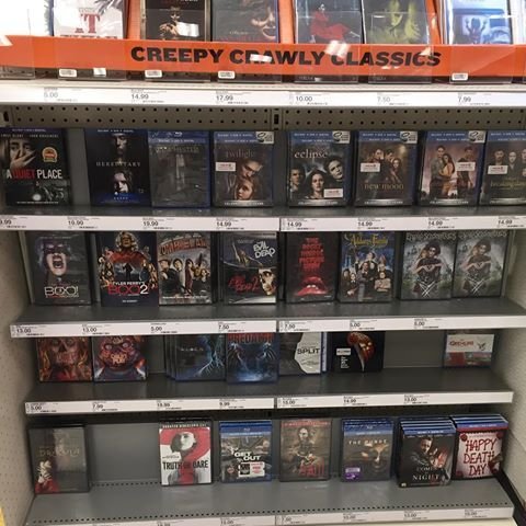 Target needs to step it up for Halloween Besides the 4K version on