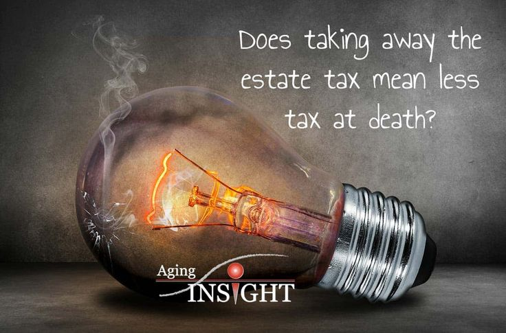 Does taking away the estate tax mean less tax at death?     John Ross and Lisa Shoalmire  TV    Affordable Care Act, estate tax, federal government, income taxes, older Americans act, president trump, receiving social security