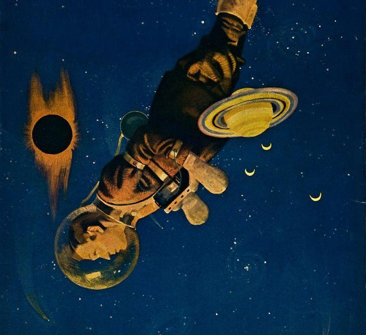 Rare Wonderful 1950s Space Art: 412 Best Retro Futurism Images On Pinterest