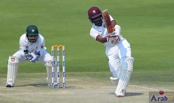Brathwaite hits fifty after West Indies set…