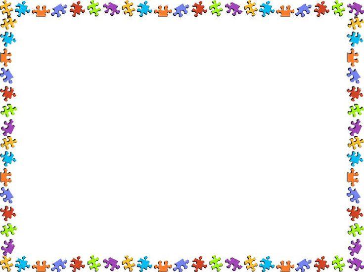Marcos para imprimir en hojas de texto para niños
