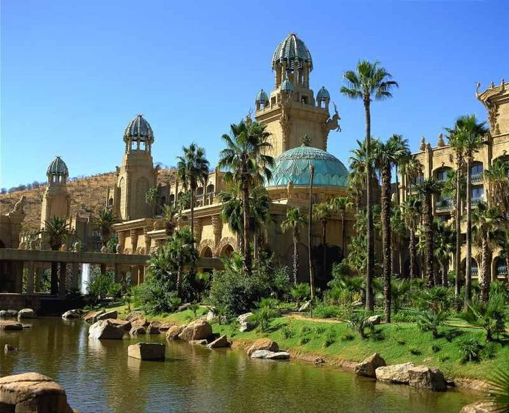 Palace of the lost city.  south Africa, We have been at the Lost City!