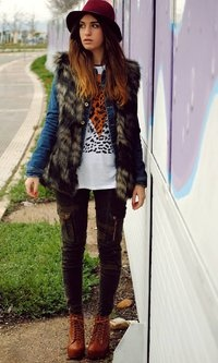 JUST LIKE A LEOPARD