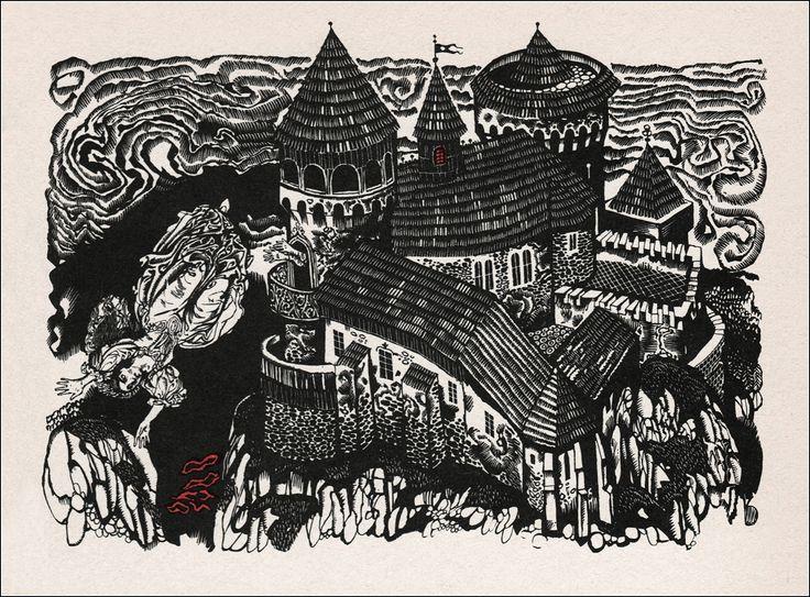 Zakopaný meč. Illustrator Vladimír Machaj. - Book Graphics