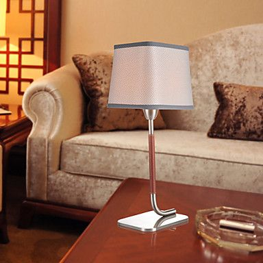 FABRIC NICKED TABLE LAMP